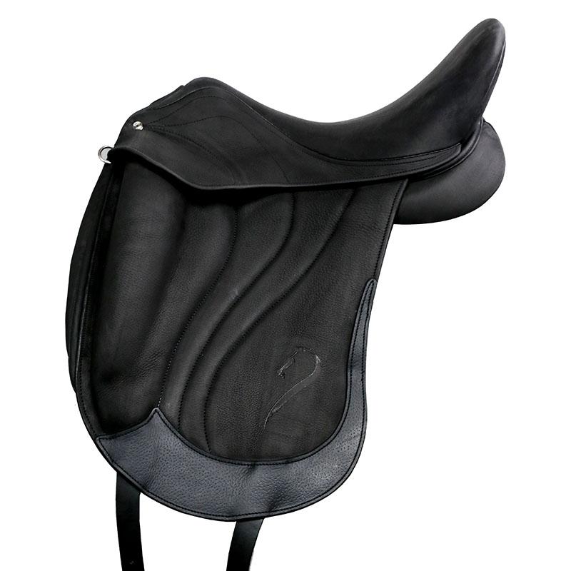 Selle antares en cuir sur mesure Concept selle dressage monoquartier selle de cheval et poney personnalisable