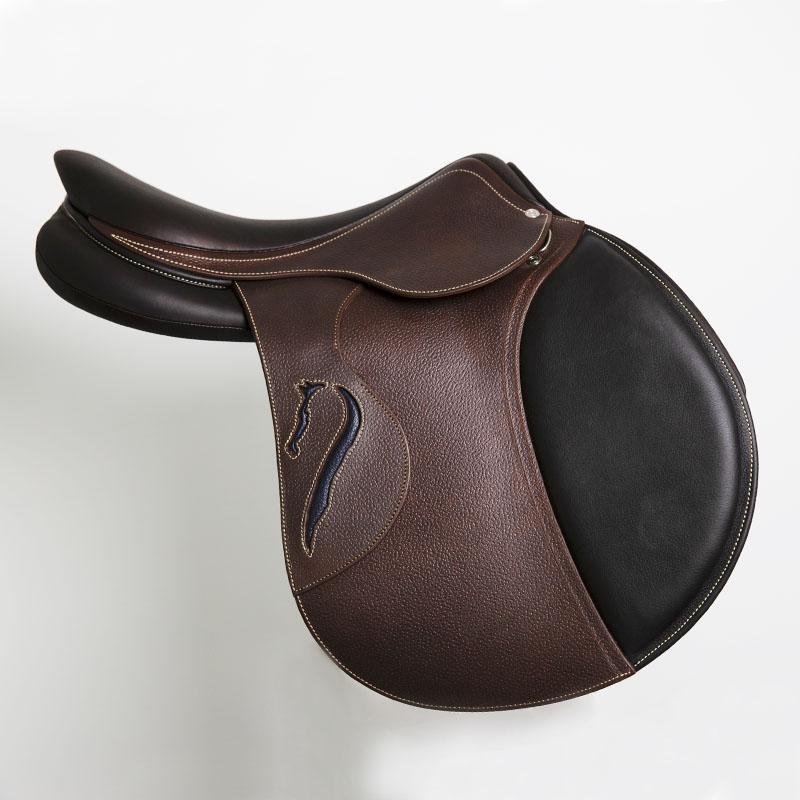 Selle antares en cuir sur mesure Contact selle obstacle cso selle de cheval et poney personnalisable