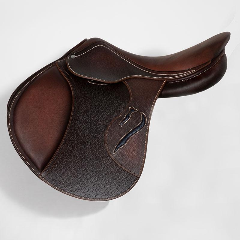 Selle antares en cuir sur mesure Evolution selle obstacle cso selle de cheval et poney personnalisable