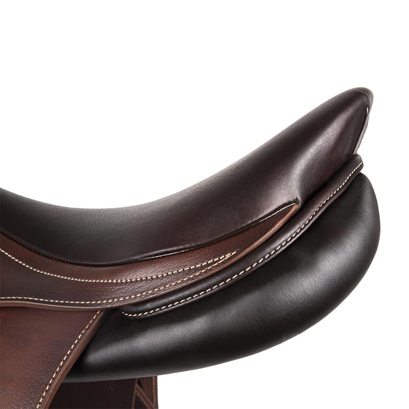 Selle antares en cuir sur mesure Connexion selle obstacle cso selle de cheval et poney personnalisable