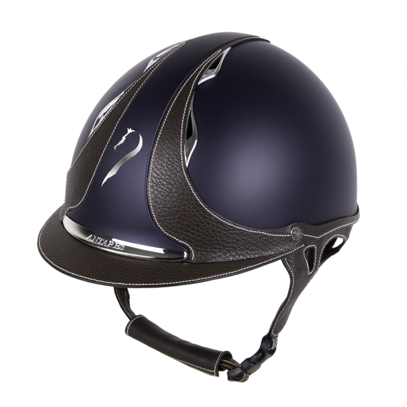 antares sellier casque cross dressage obstacle cso equitation enfant galaxy jugulaire cuir bombe equitation
