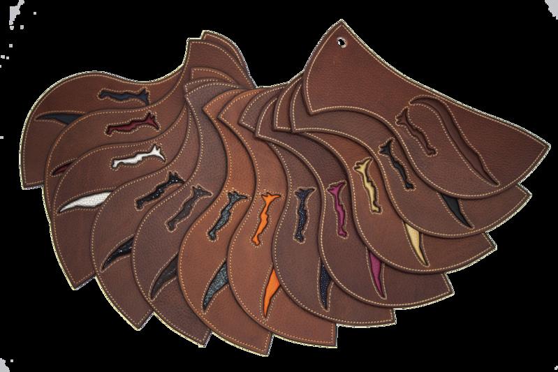 Personnalisation de selle de cheval et selle poney antares sur mesure en cuir pour l'equitation