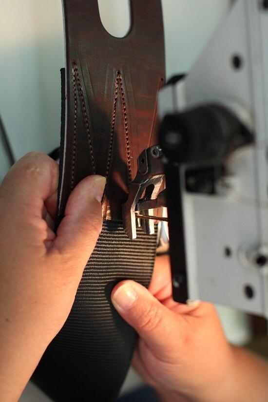Selle sur mesure cheval equitation en cuir Antarès fabrication française