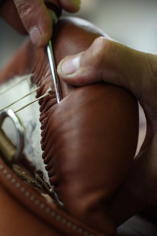 Fabrication Antarès selle equitation sur mesure en cuir pour le cheval