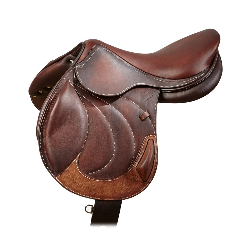 monoflap cross country antares custom horse saddle jumping saddle